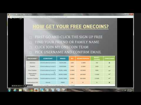 THE BEST SHORT/STILL DETAILED ONECOIN EXPLANATION. Bitcoin Included!