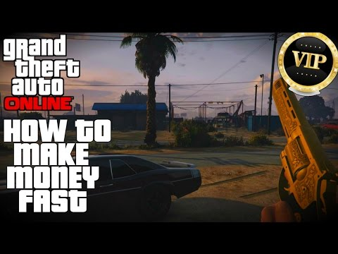 GTA Online - How To Make Money If You're Not A VIP!  (Money Making Methods)