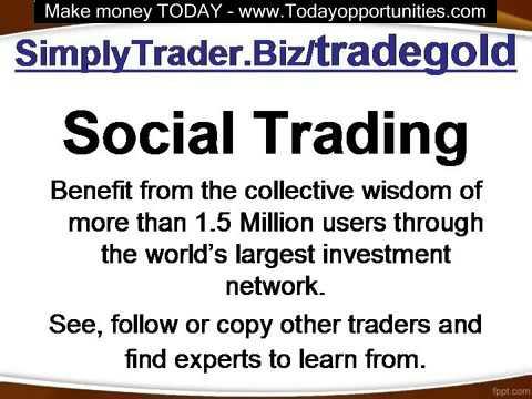 Make Money by Trading Gold at SimplyTrader.Biz/tradegold -  how to make money online easy
