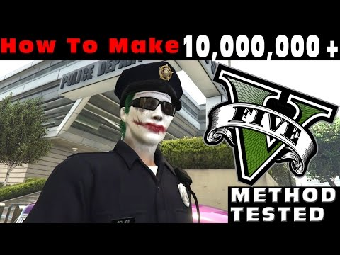 GTA 5 Online: How To Get MONEY FAST $10000000+ Every Day!