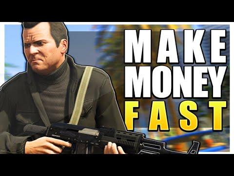 GTA 5 Online | MAKE MONEY FAST ONLINE - GTA V Best Ways To Make Money! (GTA 5 Fast & Easy Money)