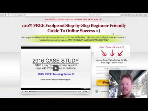 Make Money Online 2016 with Luke Lee Burton
