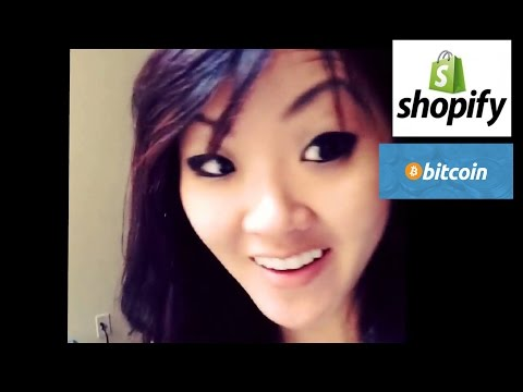 Shopify partnered with BitPay! You and 75,000+ merchants can safely accept Bitcoin through them!
