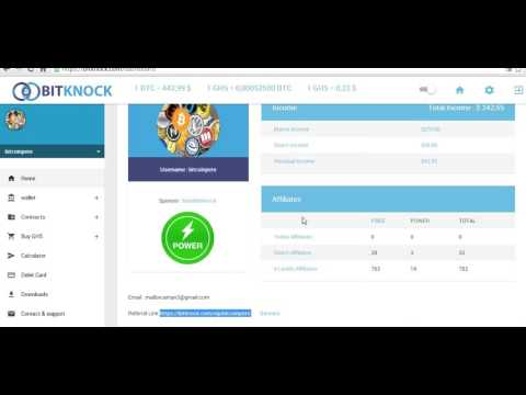 Bitknock Episode 1 How to create account