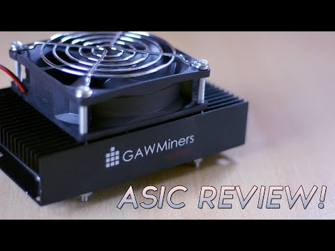 GawMiners The Fury 1.3MHs+ ASIC Miner Review!