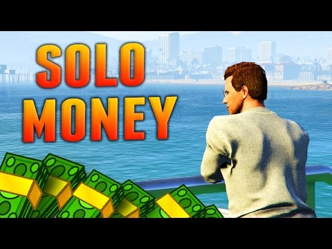 The Best SOLO Ways to Make Money in GTA Online! (GTA 5 Fast Money Methods)