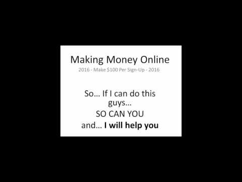 How To Make Money Online Today