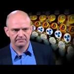 Bitcoin and Litecoin on BBC News