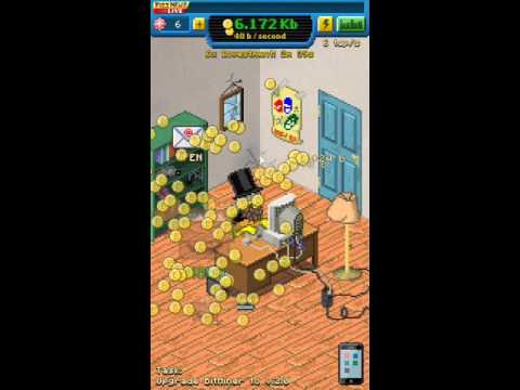 Bitcoin Billionaire Game Play - Noodlecake Studios - IOS, Android