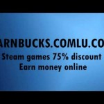 Earnbucks – Steam games 75% off, make money online
