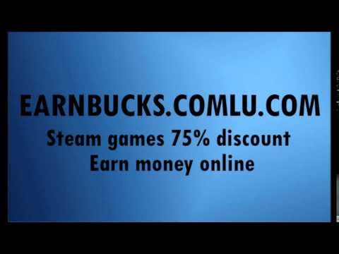Earnbucks - Steam games 75% off, make money online