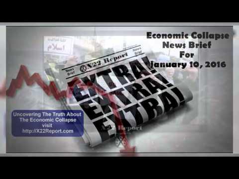 Current Economic Collapse News Brief Episode 863