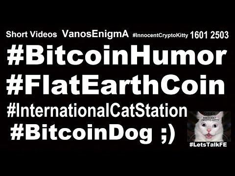 16012503 Bitcoin Humor #FlatEarthCoin Cryptocurrency BitcoinDog #InternationalCatStation Flat Earth