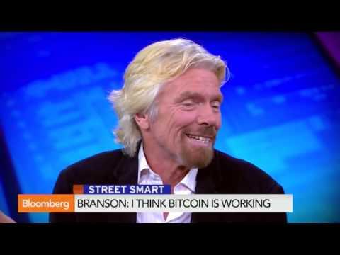 2016 Sir Richard Branson  I Think Bitcoin Is Working