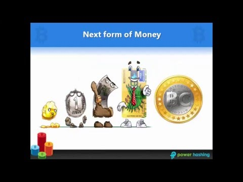 What is Bitcoin - Power Hashing HIndi NEW Presentation - Kartike +91 9999897808 +91 9999897808