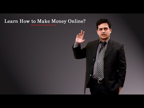 Learn how to make money online?