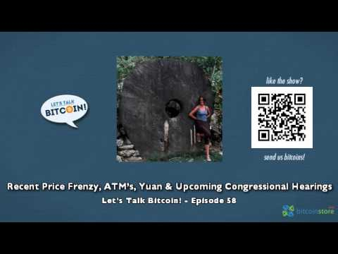 Recent Price Frenzy, ATM's, The Yuan, & Upcoming Congressional Hearings