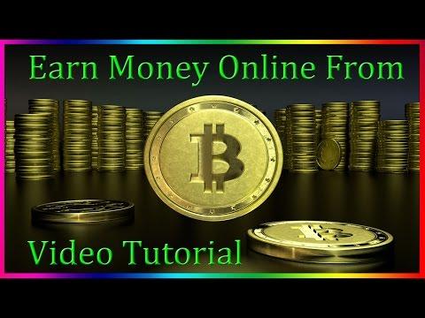 Earn Money Online From Bitcoin Job
