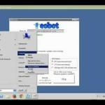 eobot Bitcoin CPU Mining Test drive on DELL T110  Server SMPN 1 Wlingi