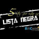 5 Sites de investimento BTC na Lista Negra [SCAM] 2016