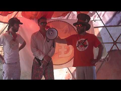 MadBitcoins goes to Camp Dogecoin – Burning Man 2014