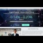 Заработок на CRYPTOPRIME – Облачный майнинг –  Майнинг биткоинов/Bitcoin mining