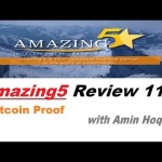 Amazing5 Review 11│Bitcoin BTC Proof│Amin Hoque