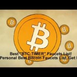 Your Personal Best Bitcoin Faucets List..Get Fre!
