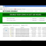 DOUBLE BITCOIN DEFINETLY A SCAM I contacted support no reply yet