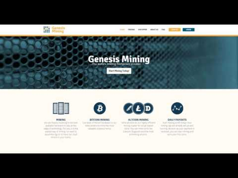 Cloud Mining with Genesis