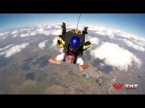 Skydiving Fun cu George - BitcoinRomania.ro si TNT Brothers