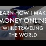 Learn how I make money online while traveling the world ✈