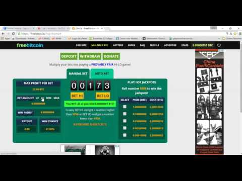 How to earn 1 bitcoin FREE in 24 hours 2016 New Tricks