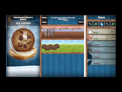 Cookie Clicker part 1