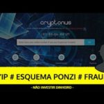 Análise CRYPTONUS HYIP, ESQUEMA PONZI, FRAUDE – SCAM Bitcoin!