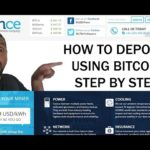 COINCE – How To Deposit  STEP BY STEP Using Bitcoin