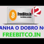 Como ganhar o dobro de bitcoin no Freebitco.in {Provando que funciona}