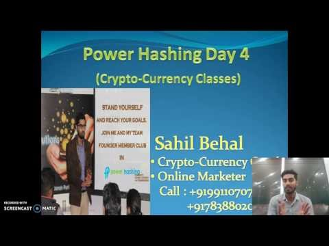 Power Hashing Day 4  -What Is Bitcoin Trading - +917838802024 , 9911070727