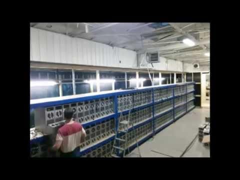 Genesis Mining  - Montagem das novas máquinas na Terra do Gelo