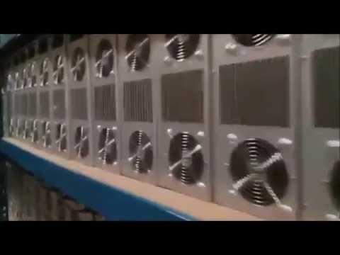 Genesis Mining - Demonstração das máquinas trabalhando