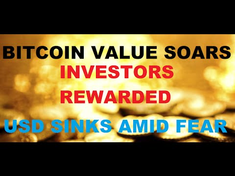 Bitcoin Value Surges 100% - Are you Invested? - US Dollar Continues to Slide
