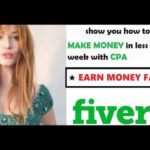 show you how to Make MONEY in less than a week with CPA