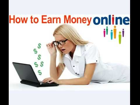 How To Earn Money Online ! How To Make Money Online ! How to make money From Home online