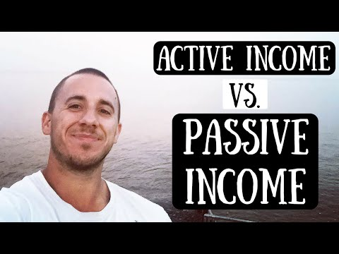How To Make Money Online - Passive Income Vs Active Income (Make Money From Home)