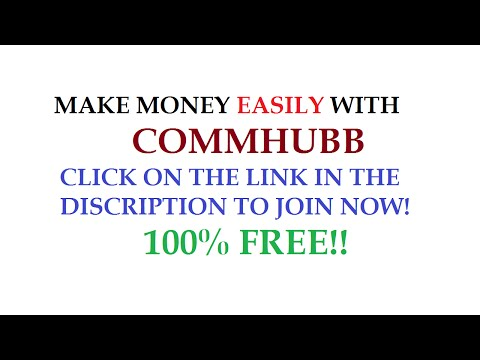 Make Money Online with Commhubb
