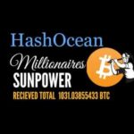 "HashOcean Millionares Club – The No.1 Bitcoin Cloud mining ""People's choice award"""