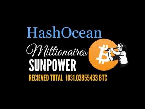 HashOcean Millionares Club - The No.1 Bitcoin Cloud mining