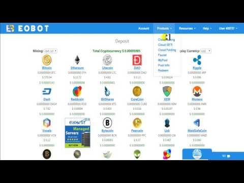 Como comprar potencia para minar bitcoin con paypal en Eobot facil y rapido