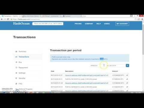 Bitcoin mining: Hashocean review