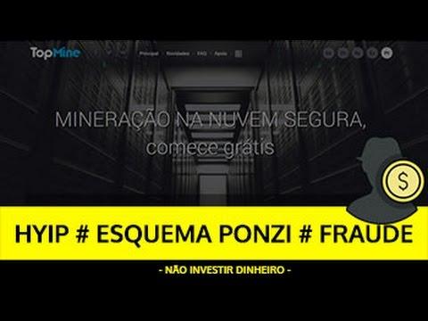 Análise TOPMINE HYIP, ESQUEMA PONZI, FRAUDE - SCAM Cloud Mining!